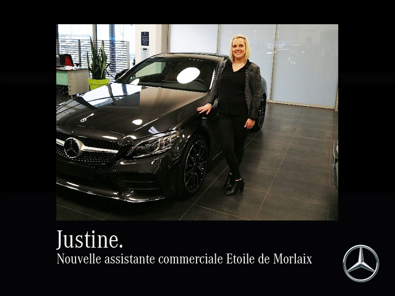 JUSTINE, ASSISTANTE COMMERCIALE