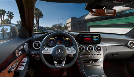 Mercedes Benz Classe C Berline interieur